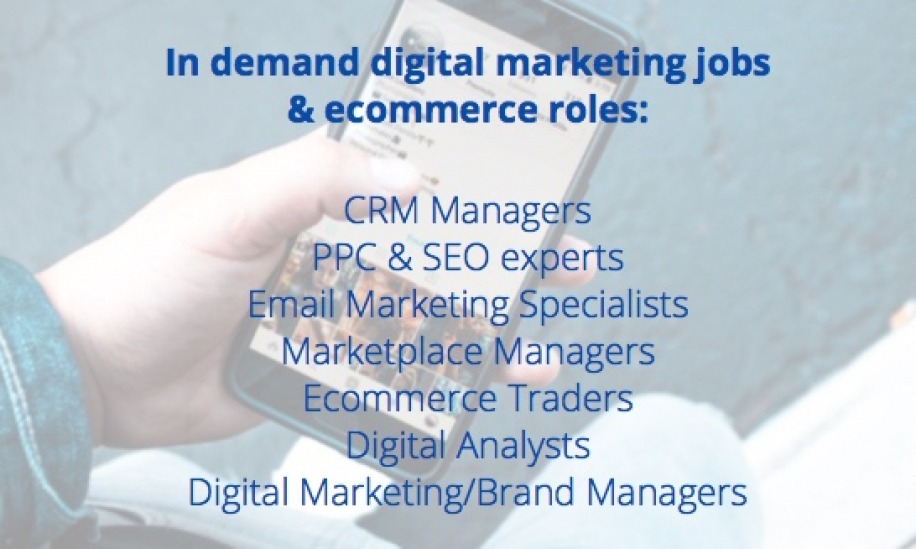 In demand digital marketing jobs
